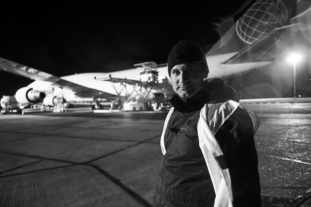 Phil - Avant Commercial - Day in the Life Photography of cargo plane loading at Stansted Airport