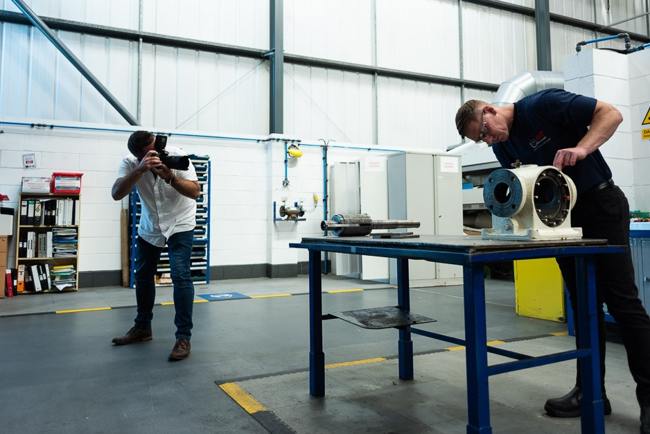 day in the life photography - behind the scenes photography - Avant Commercial photographer Phil Burrowes